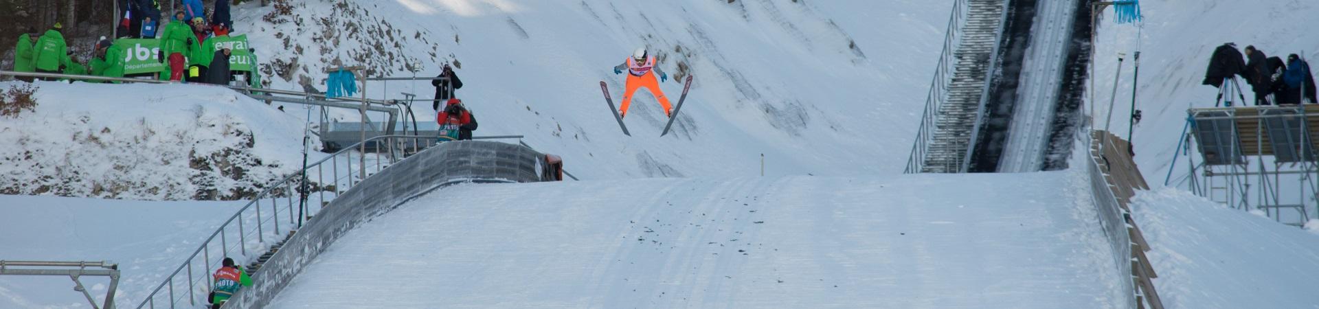 photo : Lionel Georges, 21 janvier 2017, saut a ski,